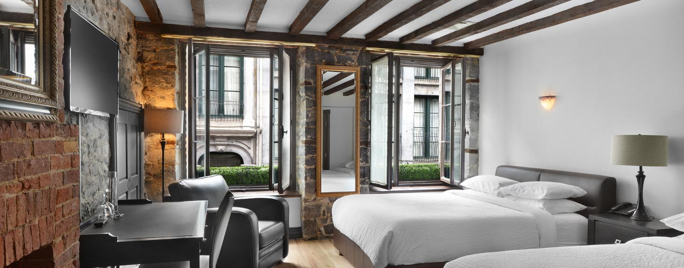 Boutique Hotel In Old Montreal
